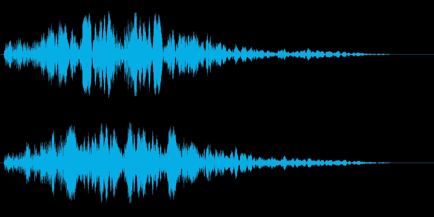 キーン (神秘的な響き)の再生済みの波形