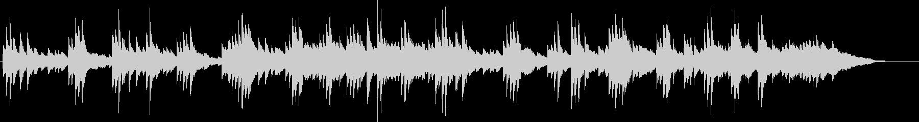 企業VP、映像などに最適なピアノBGMの未再生の波形