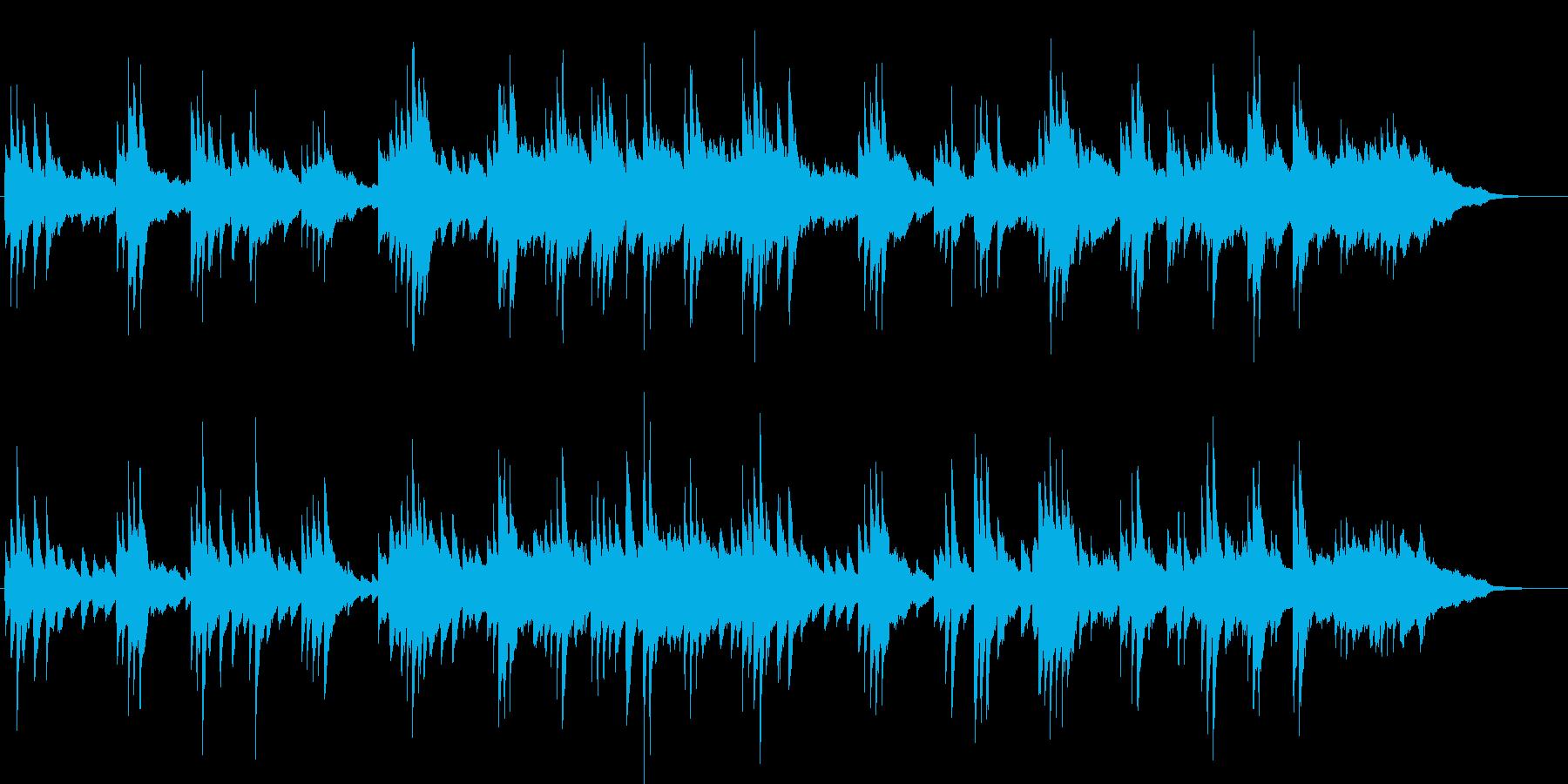 企業VP、映像などに最適なピアノBGMの再生済みの波形