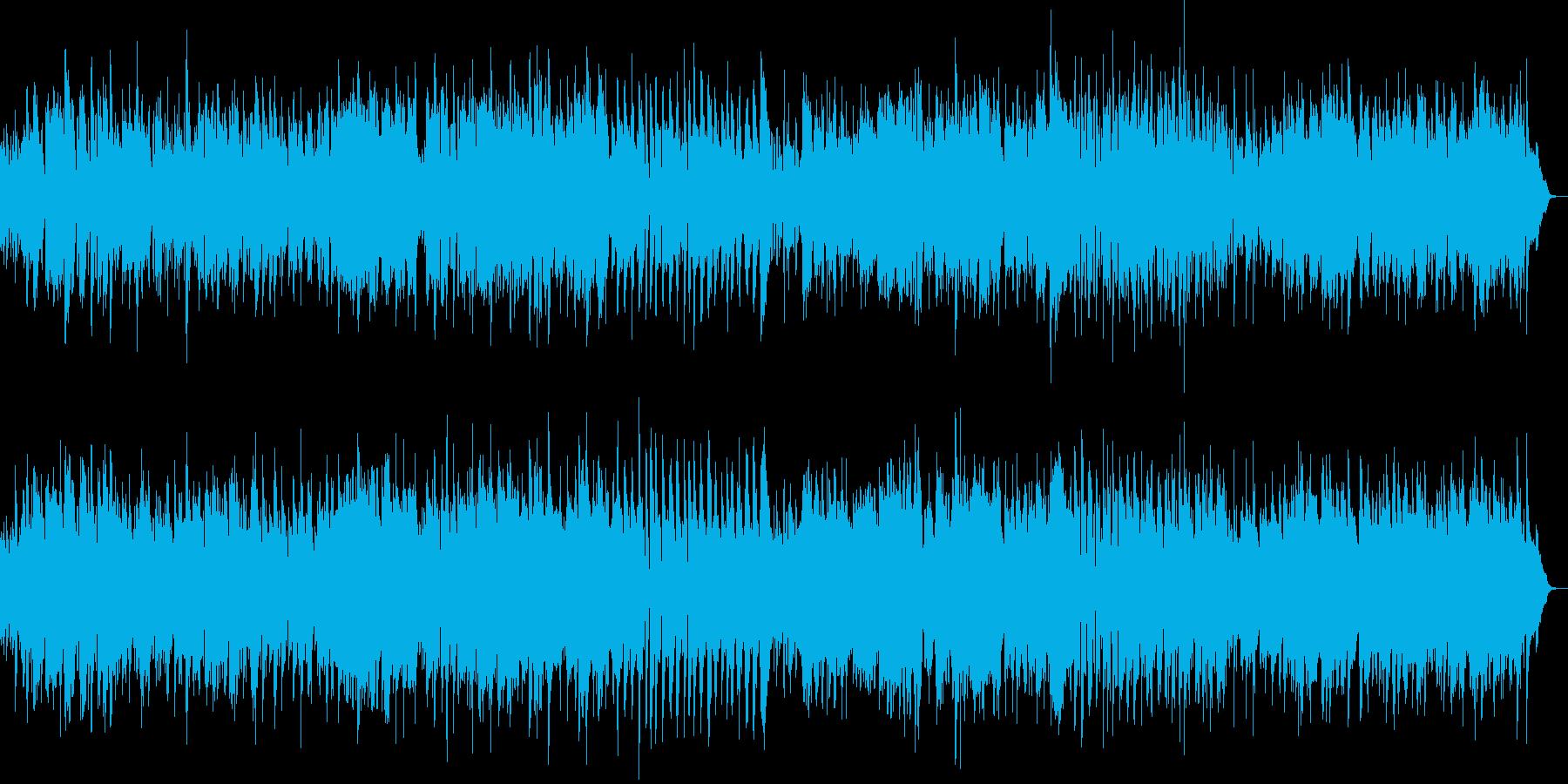 バンドネオンが激しい・ピアソラ調?な曲の再生済みの波形
