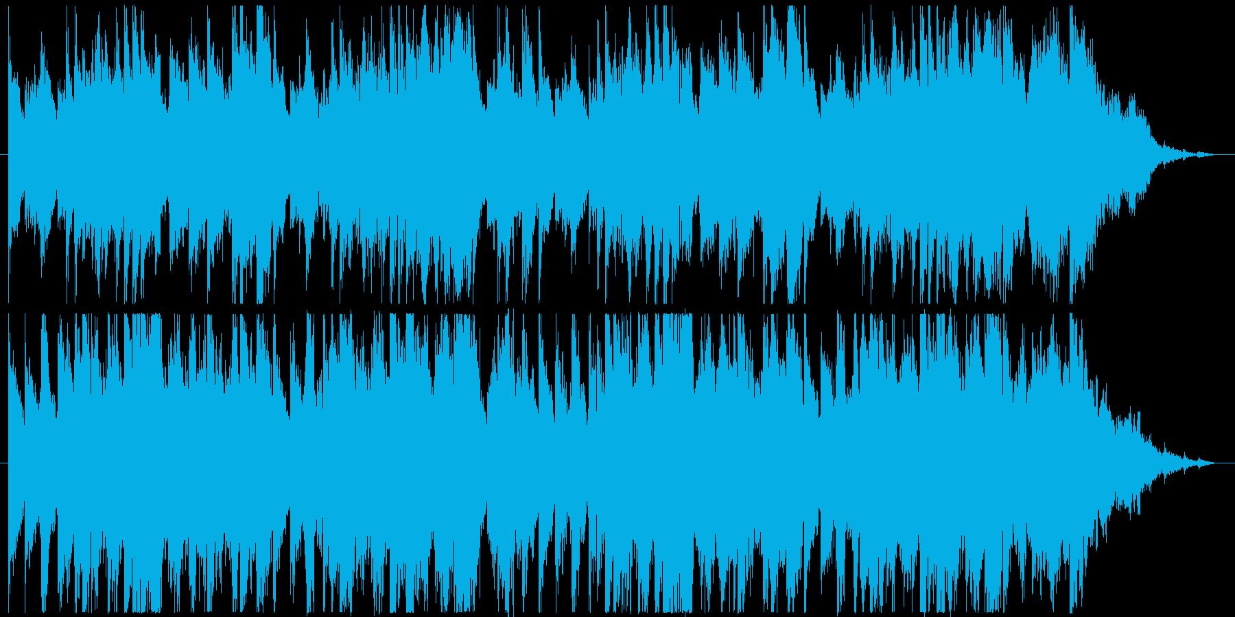 幻想的。民族楽器&オーケストラ風の再生済みの波形