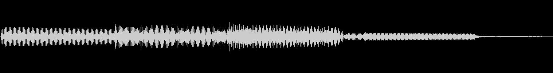 ボタン決定音システム選択タッチ登録A04の未再生の波形