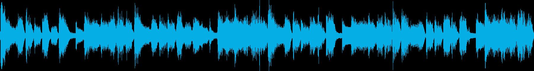 レトロな雰囲気のフュージョン_(ループ)の再生済みの波形