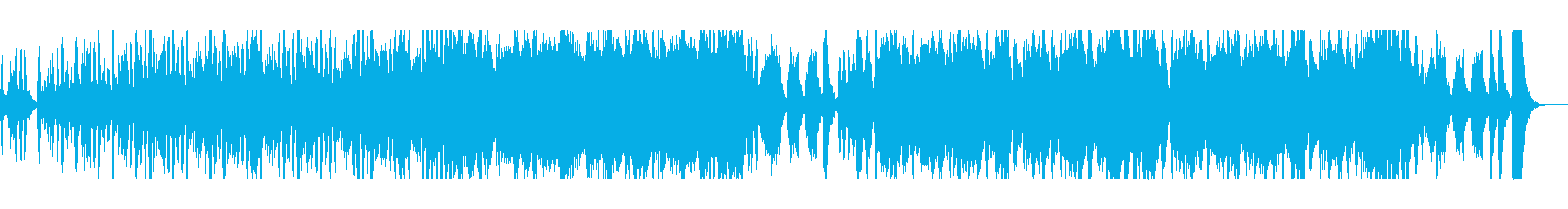 ファンタジーな管楽器シンセサウンドの再生済みの波形