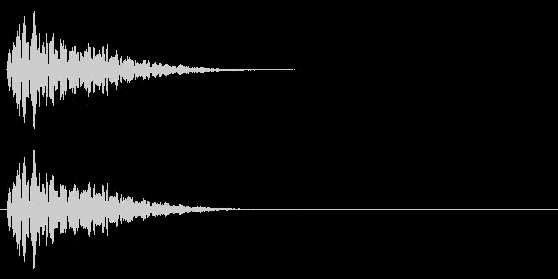 キラキラキラッ↓(流れ星、流星)の未再生の波形