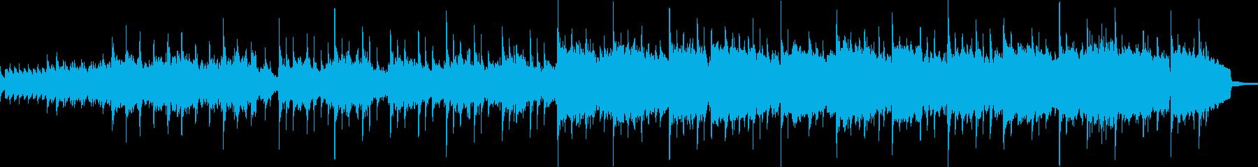 美しいピアノトラック(短縮版)の再生済みの波形