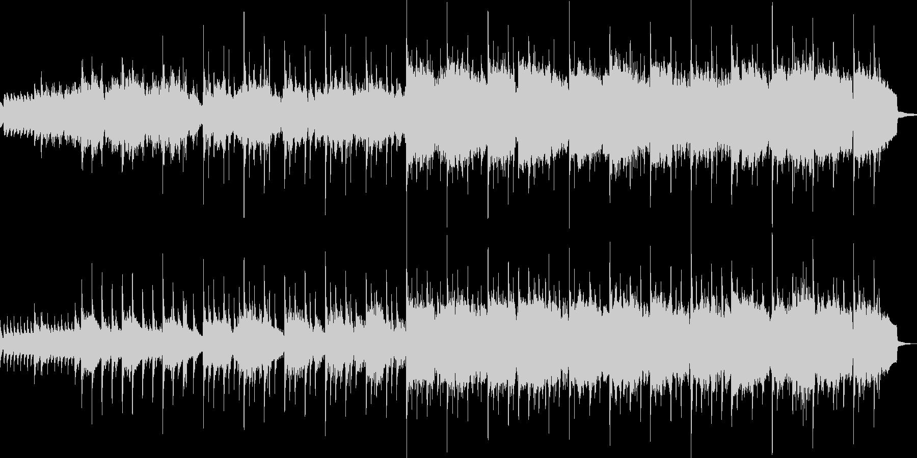 美しいピアノトラック(短縮版)の未再生の波形