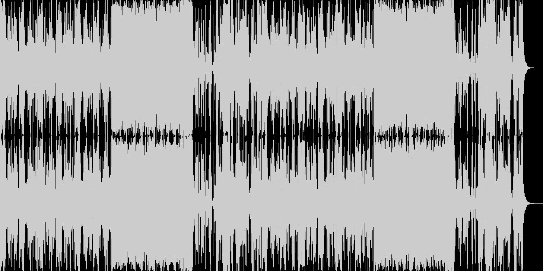 ロックサウンドをイメージした雰囲気物で…の未再生の波形