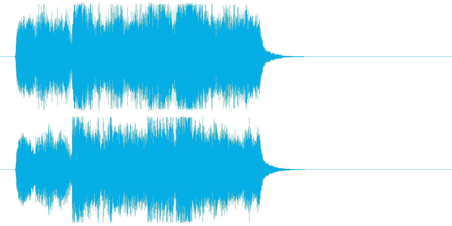 ジングル・アイキャッチ・ファンファーレ等の再生済みの波形