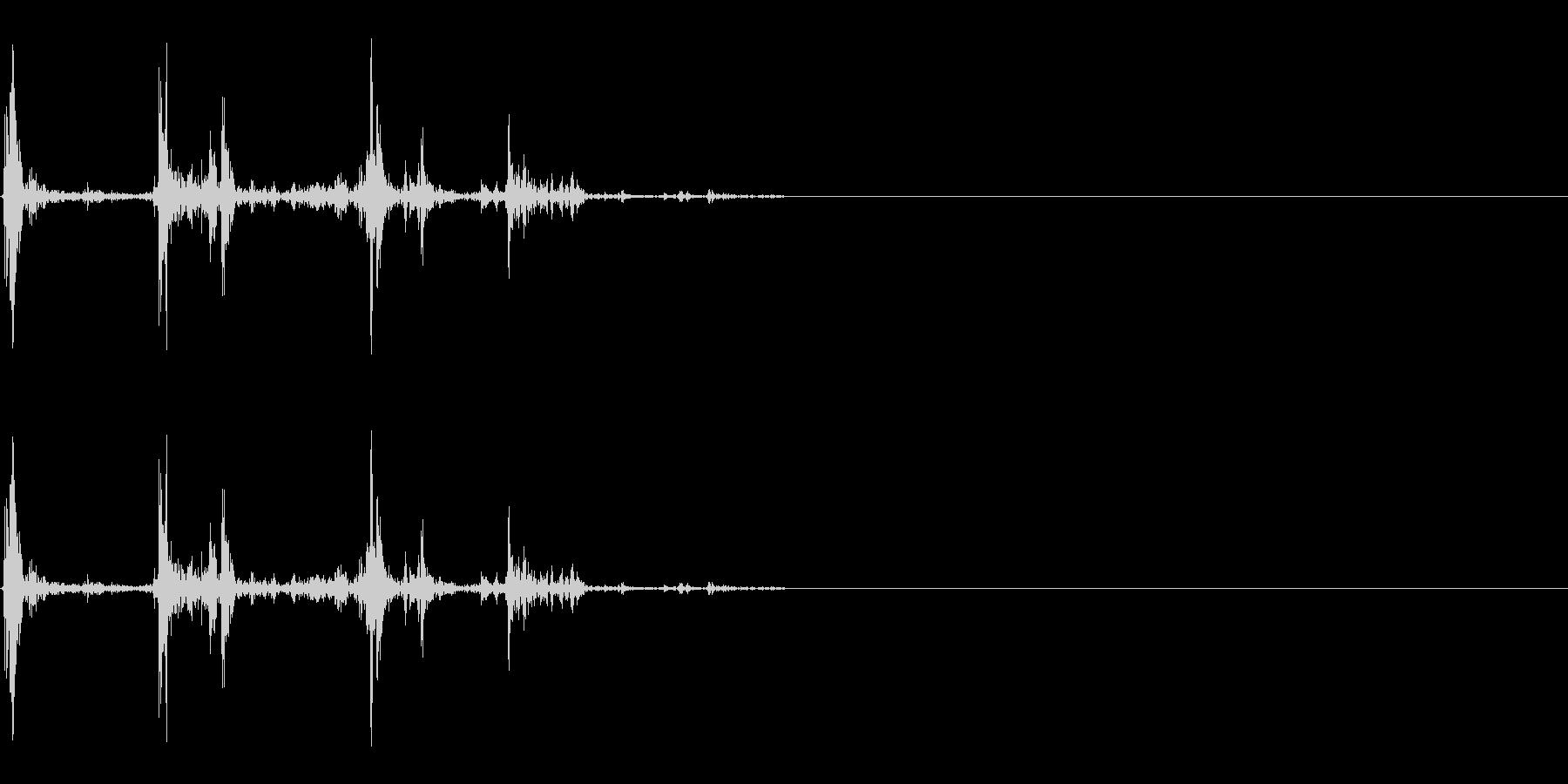 水/UI・システム音/選択/パチャッの未再生の波形