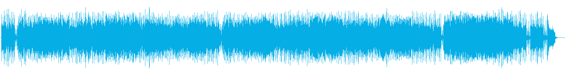 冬を感じるメロディアスでポップなBGMの再生済みの波形