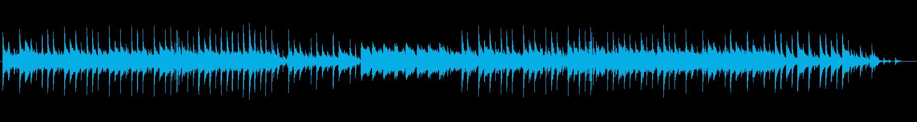 不気味とコミカルが同居したアンビエントの再生済みの波形