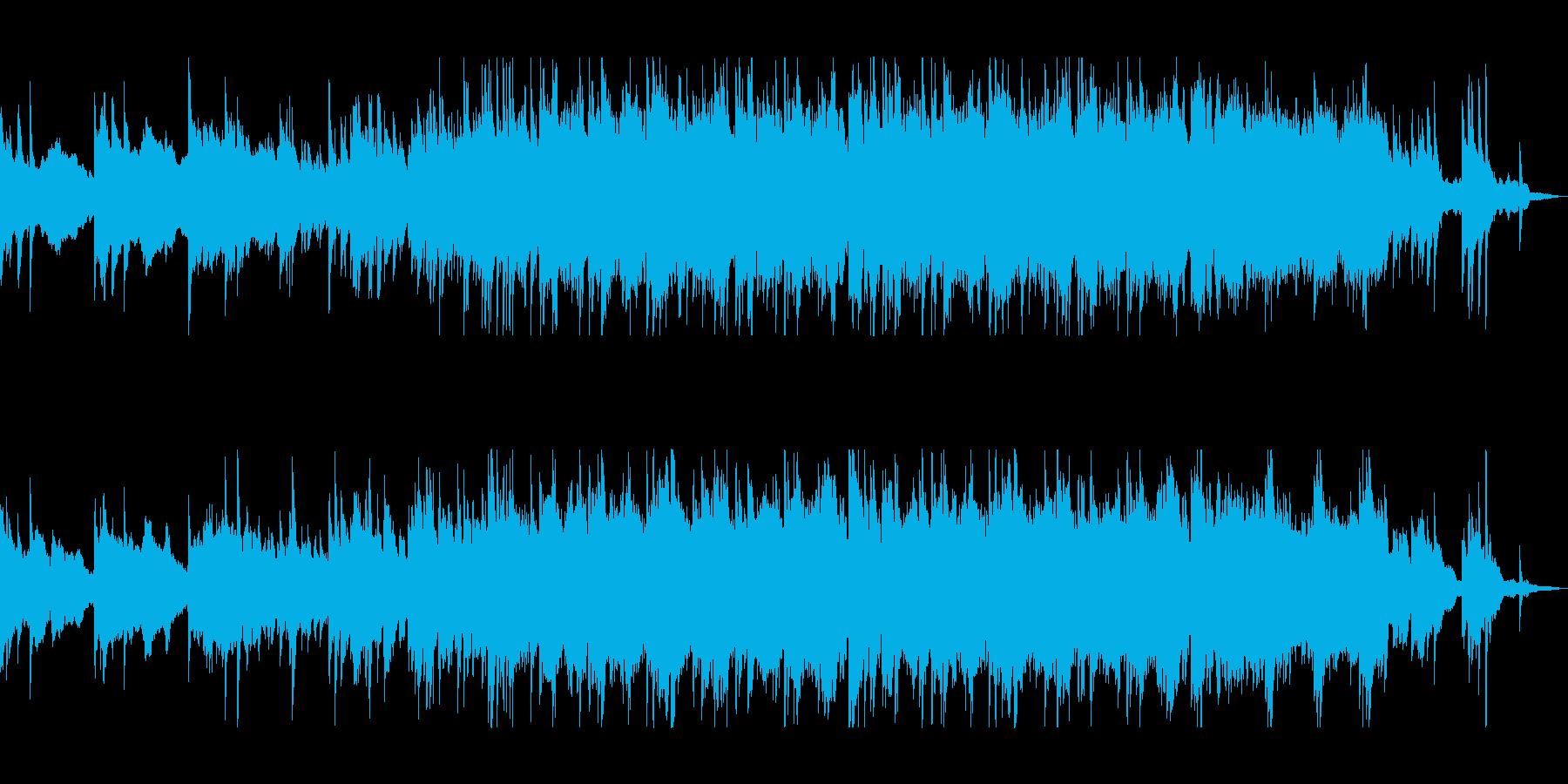 ピアノの旋律が美しいバラードの再生済みの波形