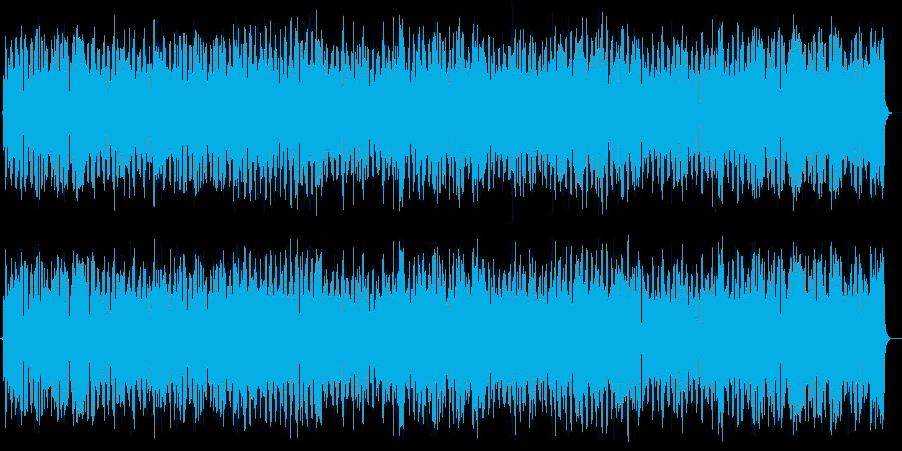 爽やかで軽快なストリングスポップの再生済みの波形