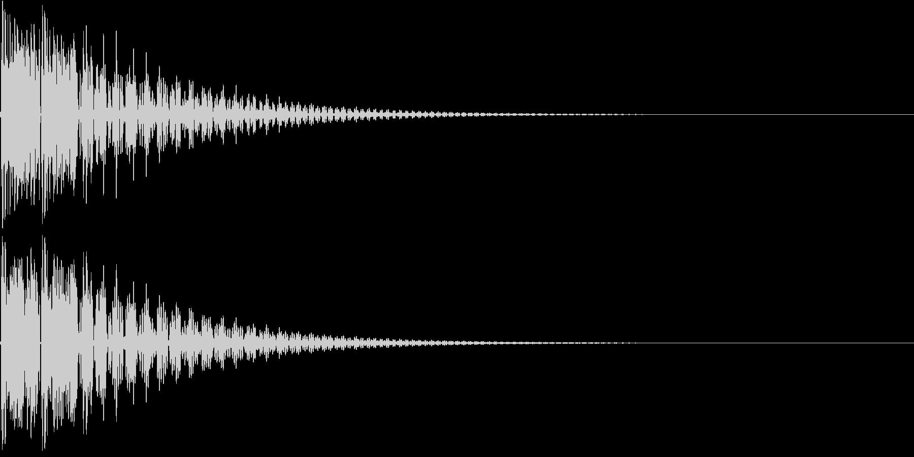 和太鼓でドドン(生演奏)の未再生の波形