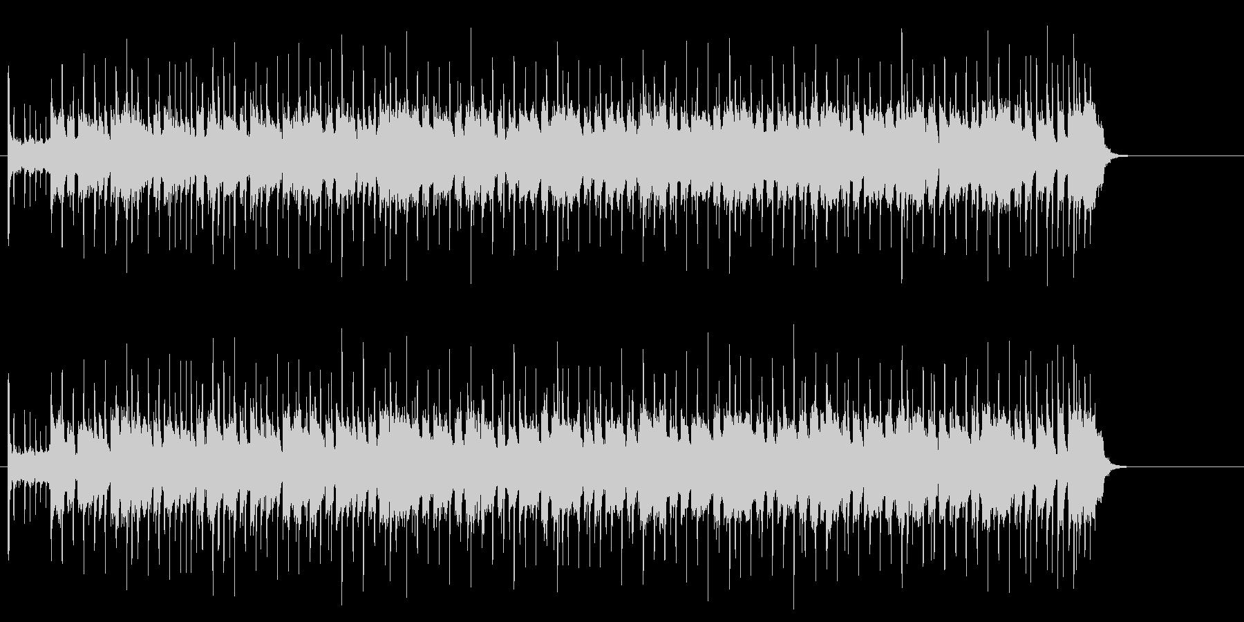 ブルージーでタフネスなギター・サウンドの未再生の波形