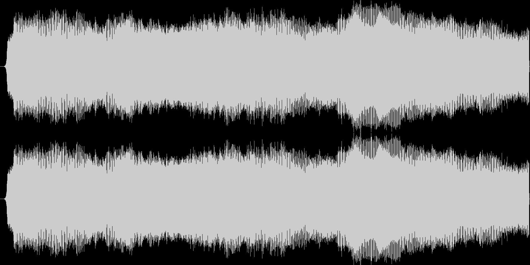 ブー(サイレン音)の未再生の波形
