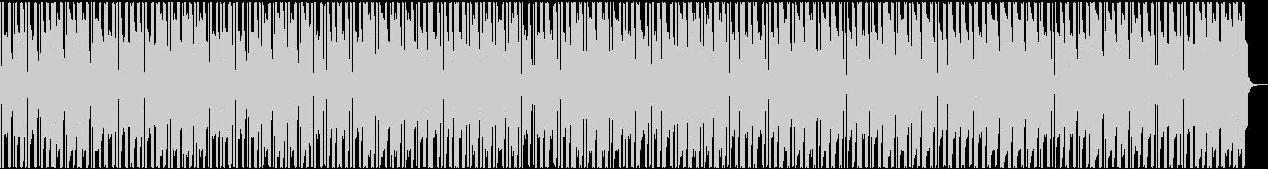 派手目フリースタイル用ビートの未再生の波形