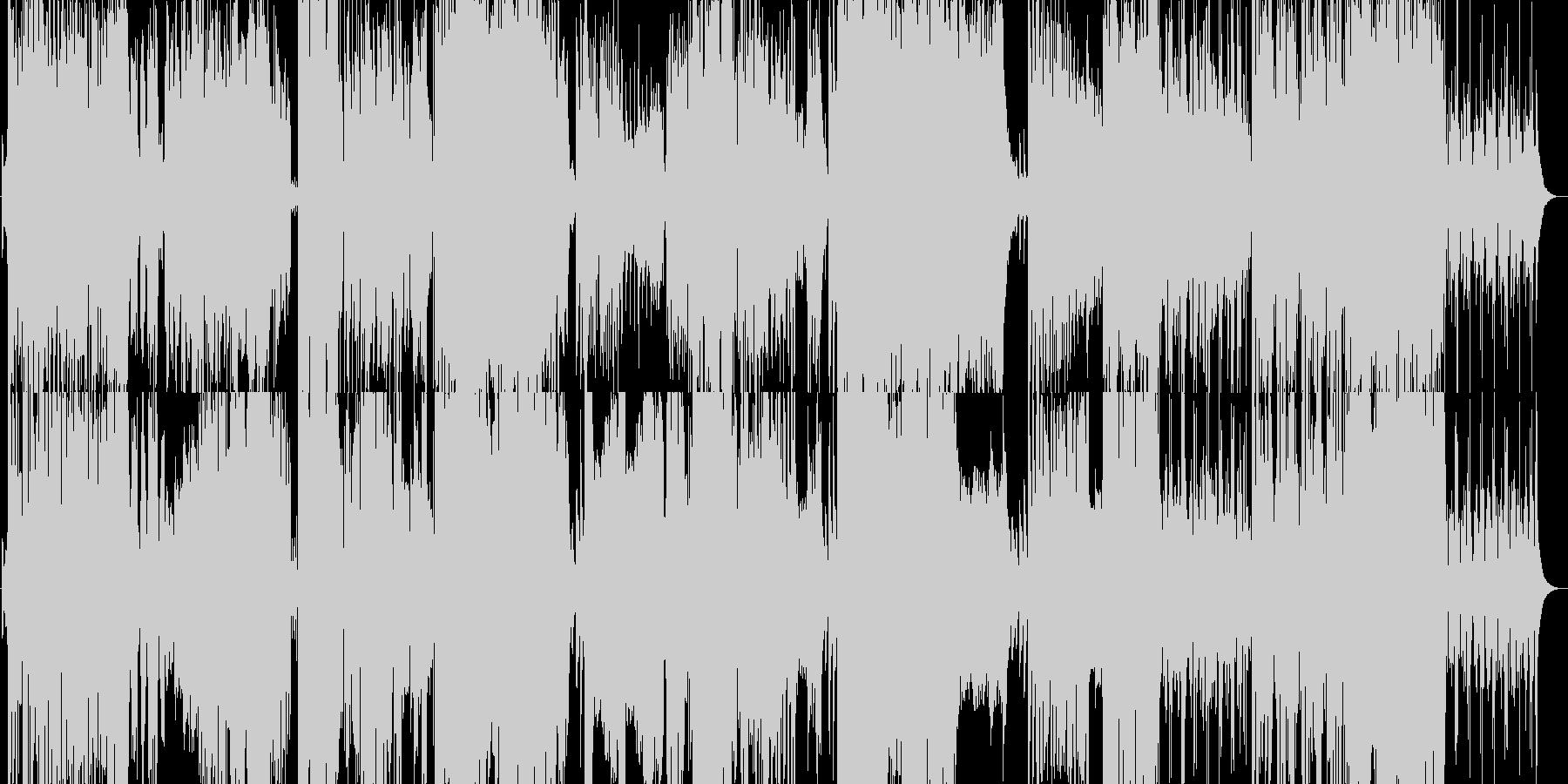 卒業■涙■小学校合奏哀愁リコーダーPOPの未再生の波形