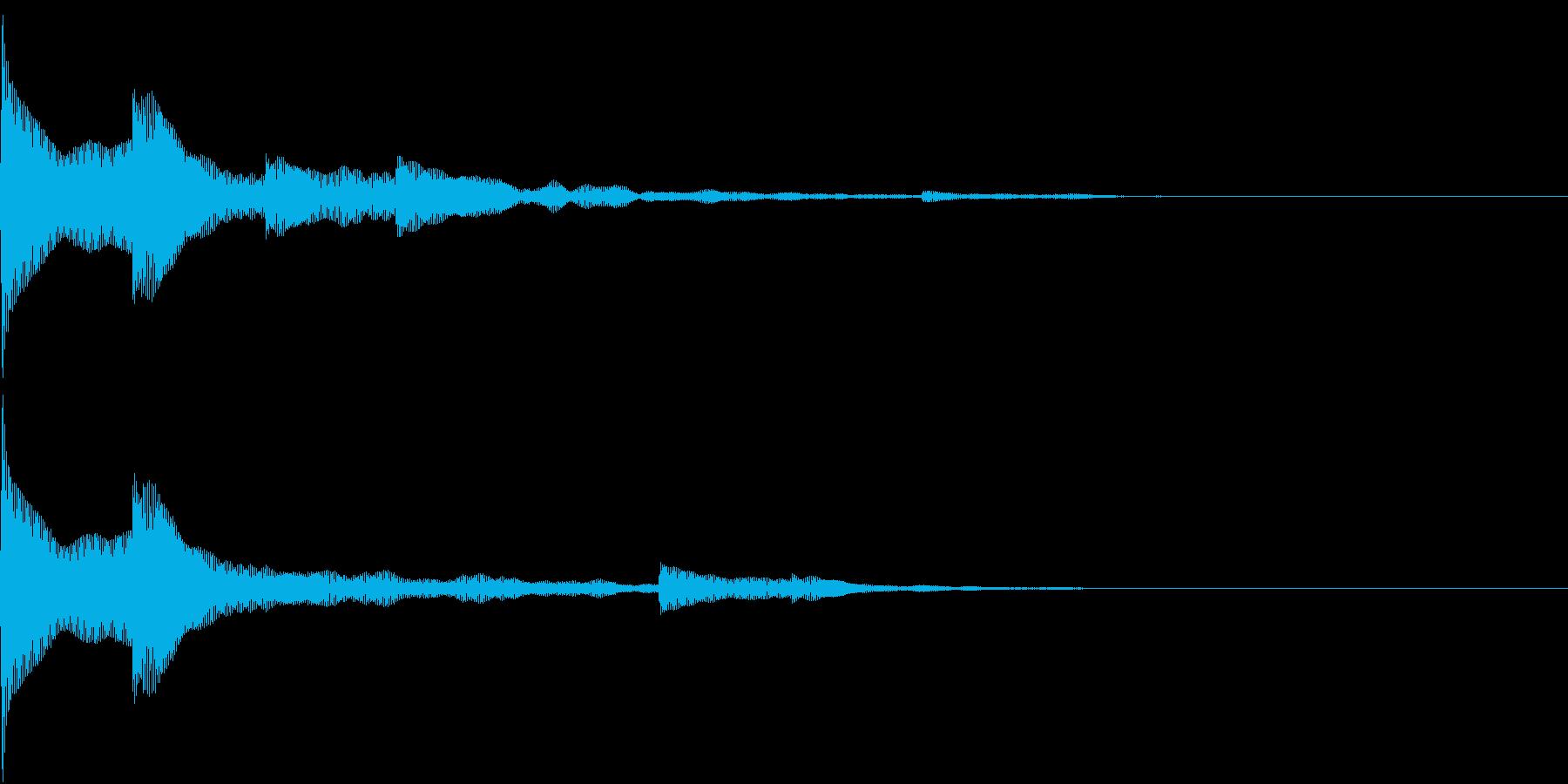 開封 開く めくる クリック 表示 6の再生済みの波形
