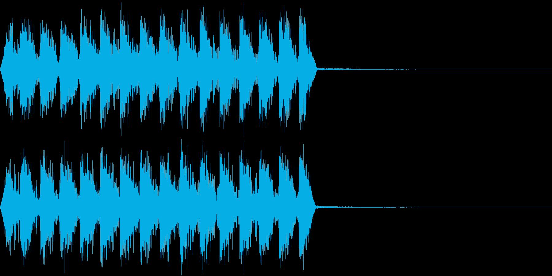 Razor レイザー小銃の連射音 4の再生済みの波形