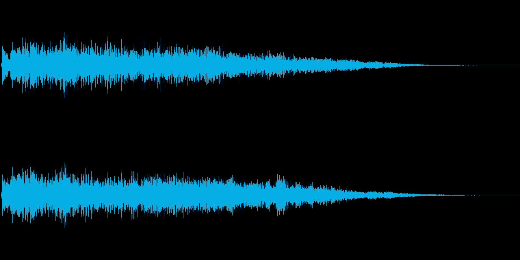 [タラララン]魔法・回復(可愛く華やか)の再生済みの波形