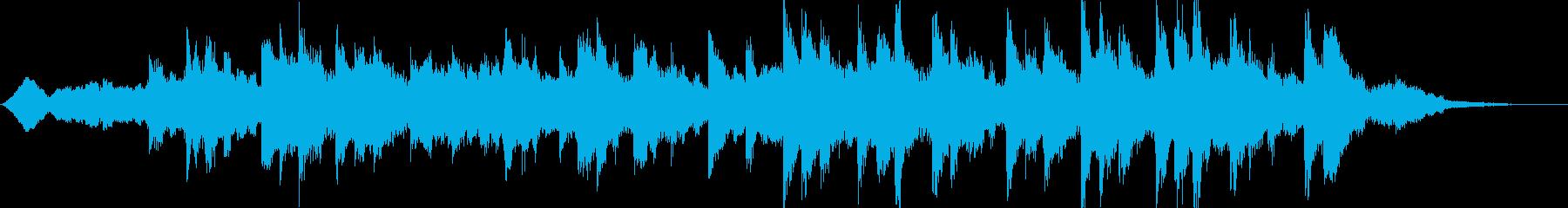 不気味ピアノの不協和音が印象的の再生済みの波形