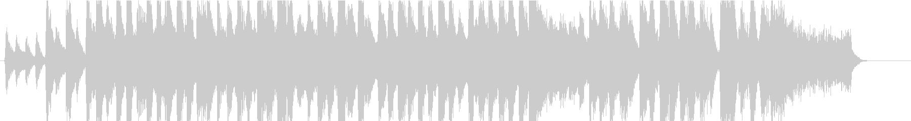 CMサイズ クリスマス・ソングですの未再生の波形