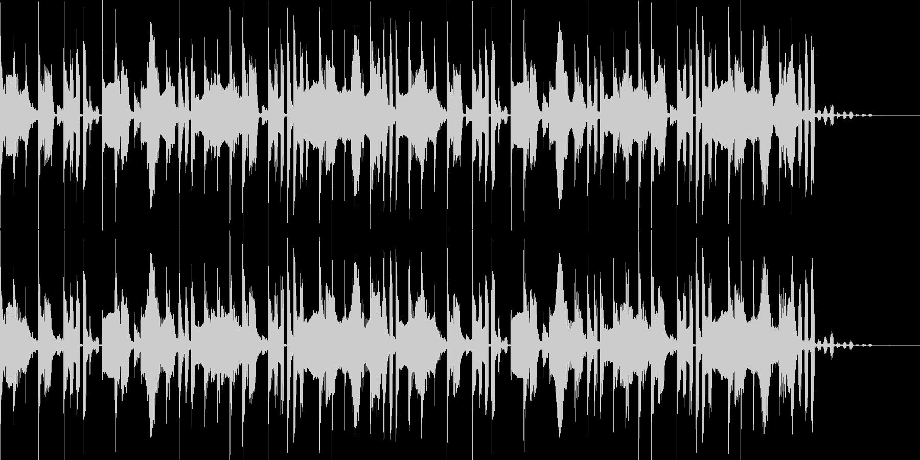 ファミコンのゲーム音楽のようなジングルの未再生の波形