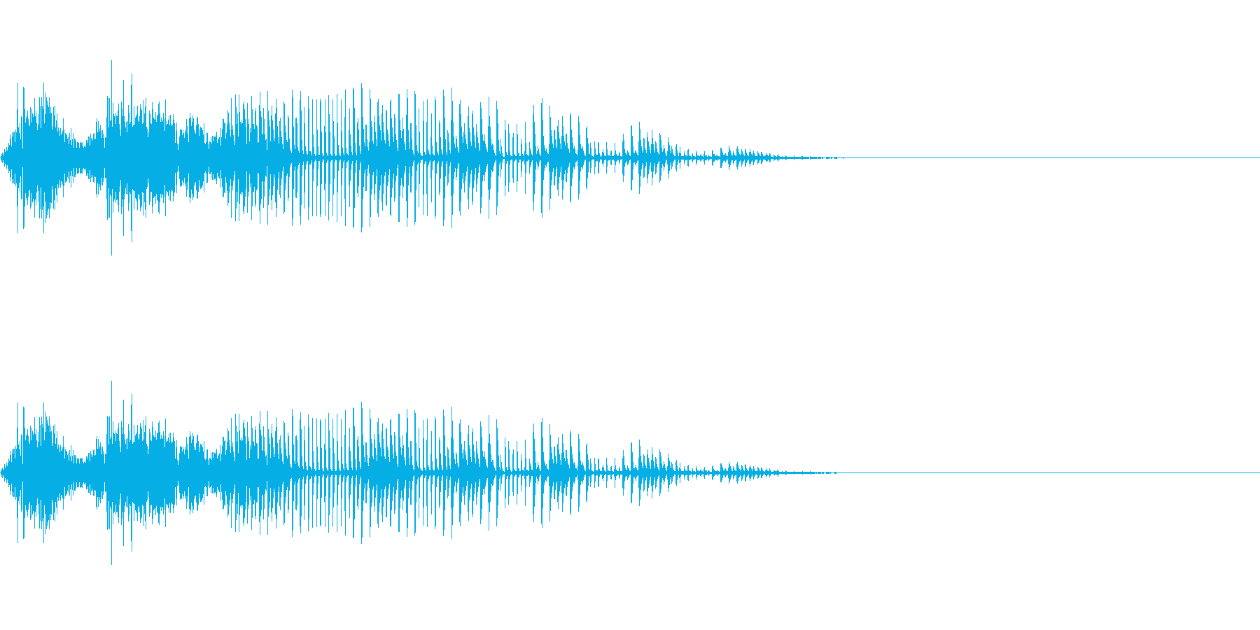 【SE 効果音】効果音その8の再生済みの波形