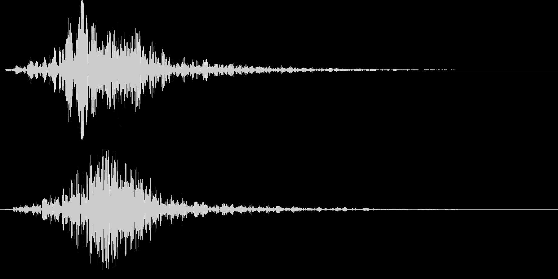 シネマティック/カットイン/サウンドロゴの未再生の波形