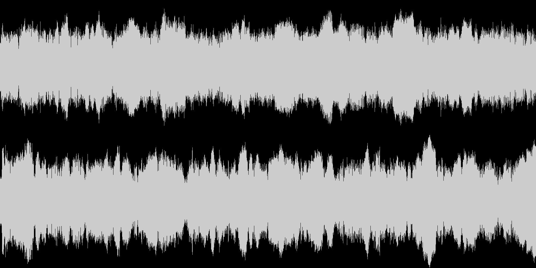ループ対応のサイレンの効果音の未再生の波形