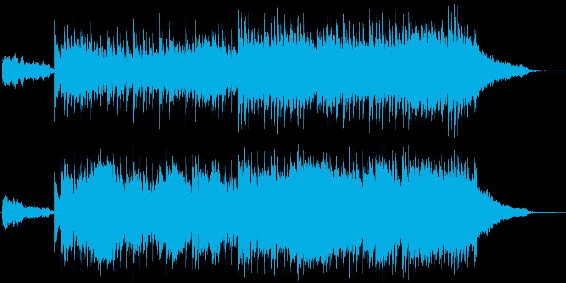 クリーンなエレクトロニックサウンド♪の再生済みの波形