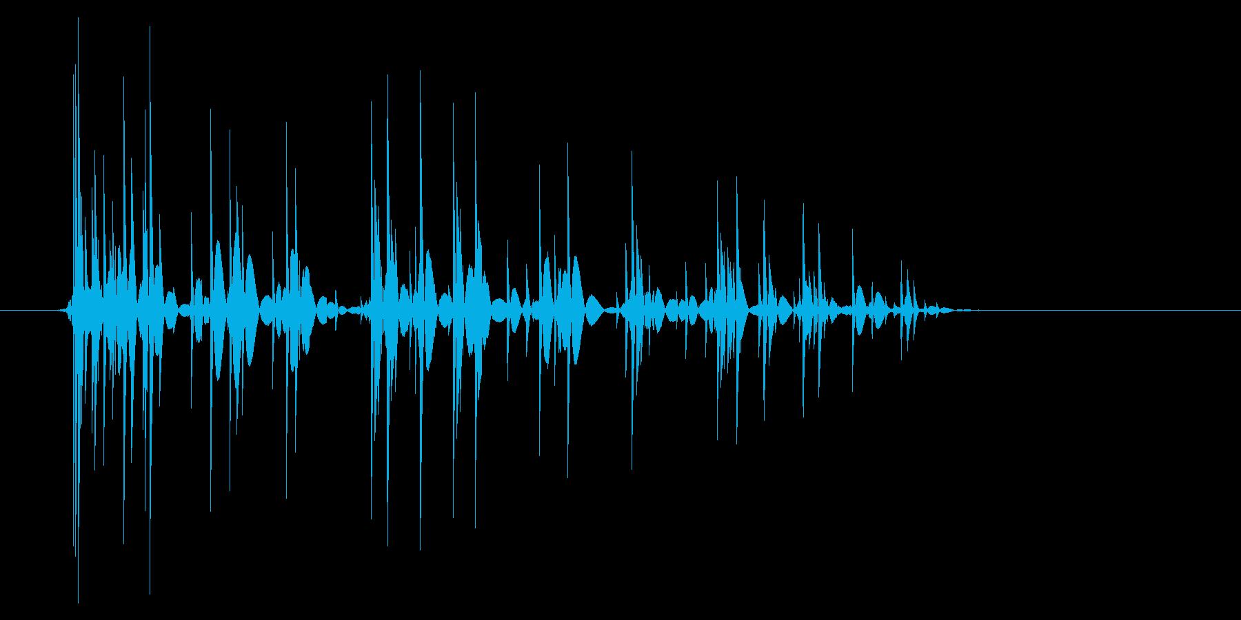 ゲーム(ファミコン風)爆発音_032の再生済みの波形