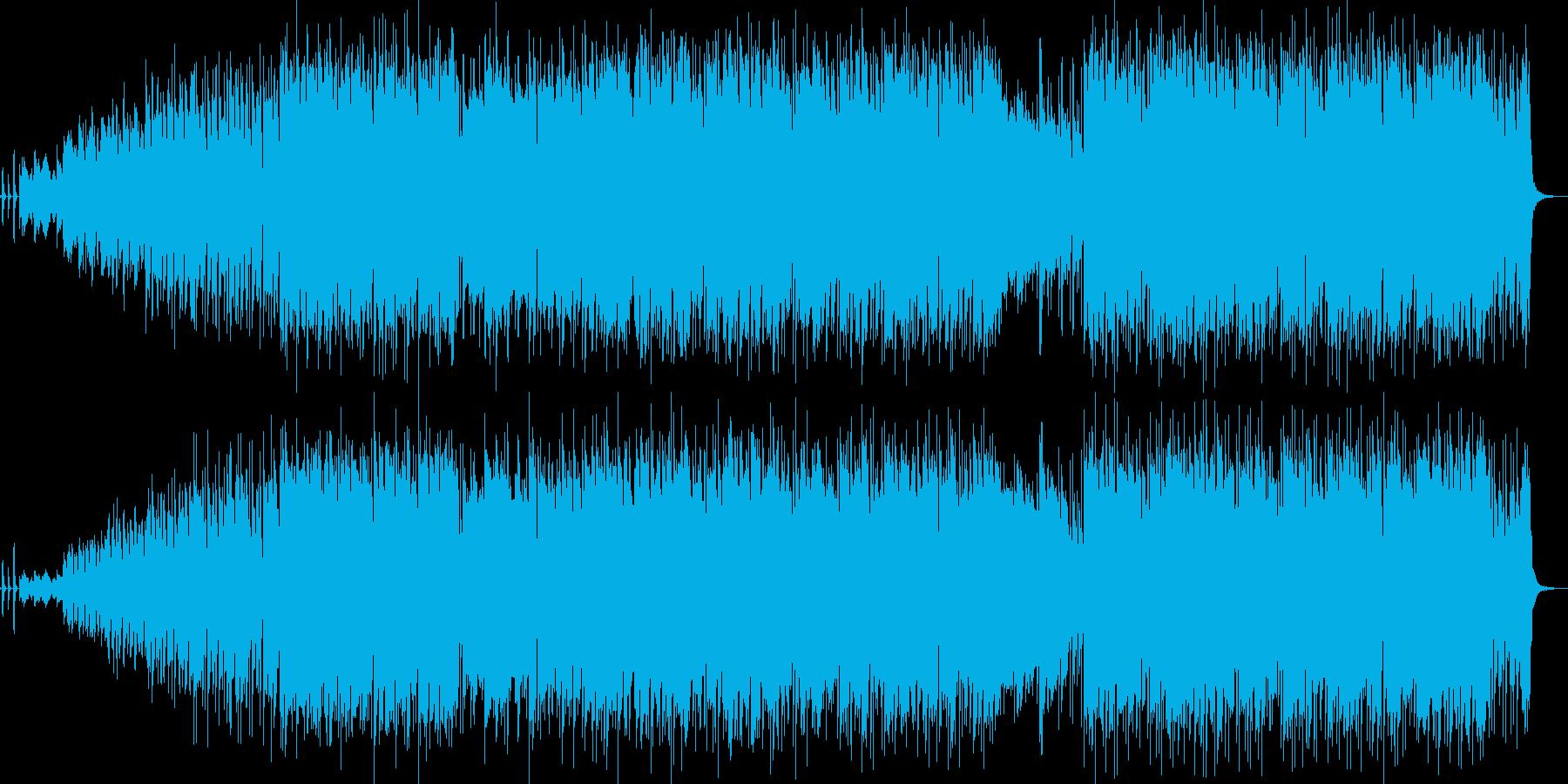 情熱的なトルコ風ユーロビートダンス曲の再生済みの波形