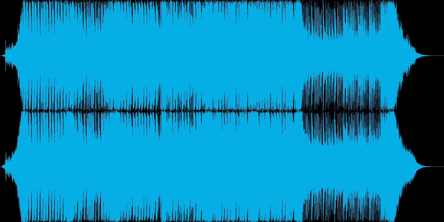 オーケストライメージの幻想的EDMの再生済みの波形