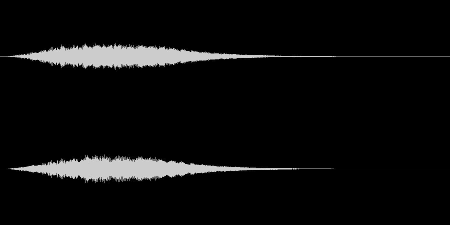 【サイバー01-2】の未再生の波形