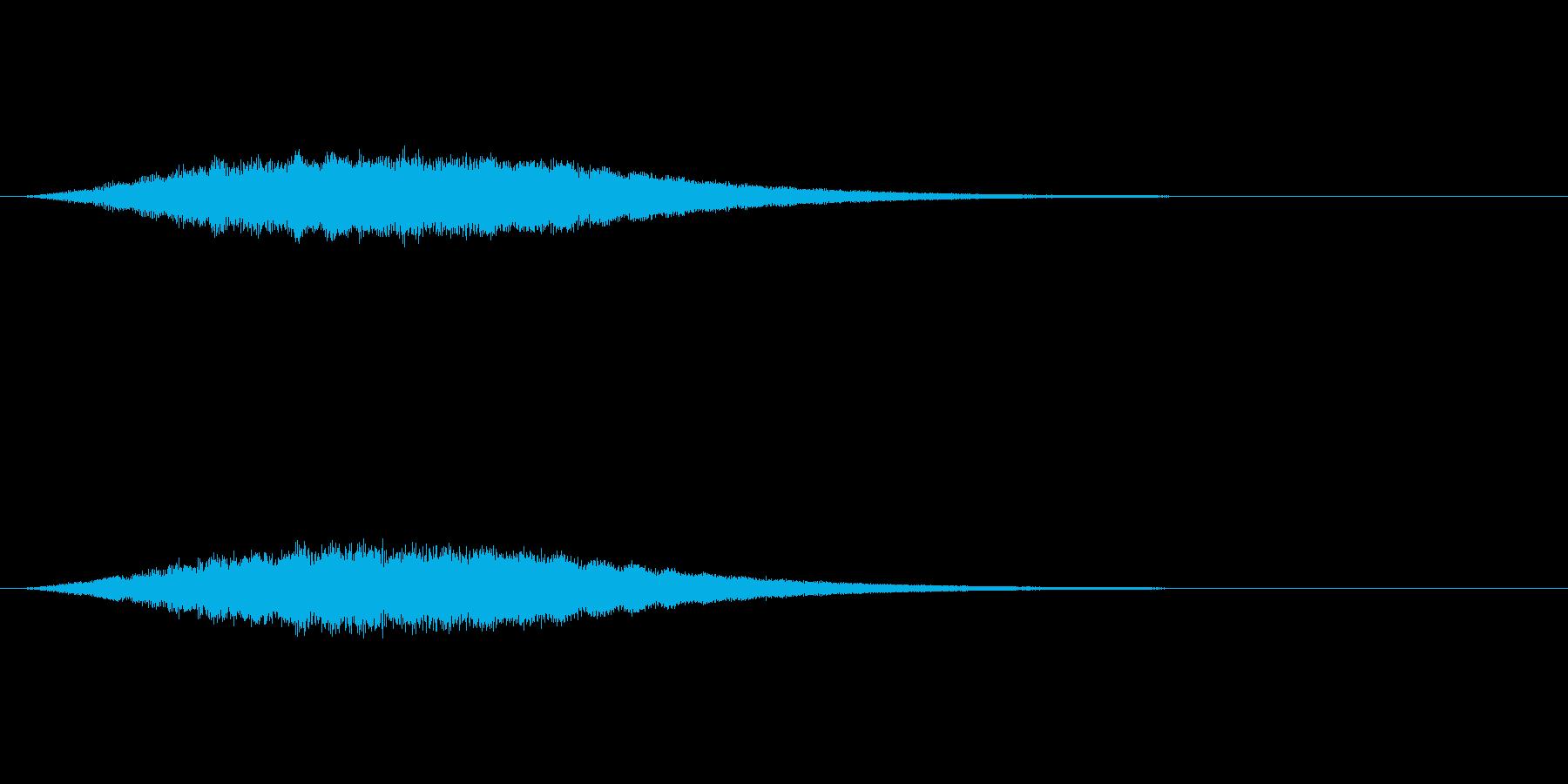 【サイバー01-2】の再生済みの波形