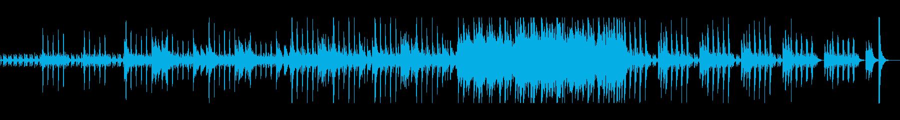 平穏なストリング行進曲の再生済みの波形