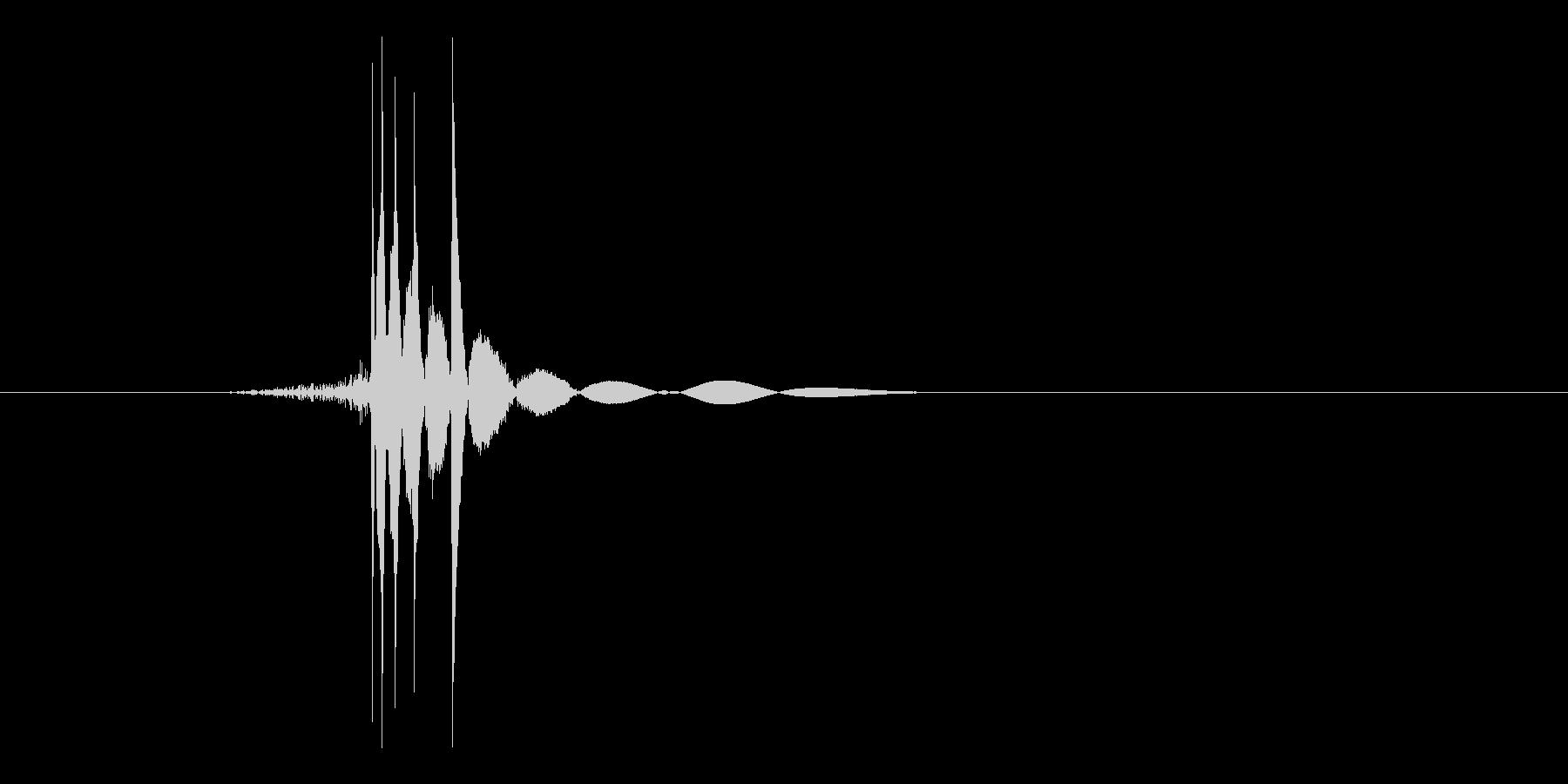 ゲーム(ファミコン風)ヒット音_002の未再生の波形