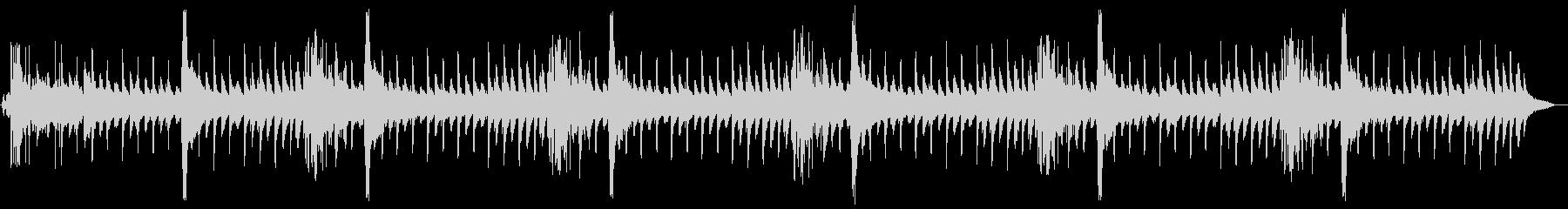 ハロウィンの怪しいBGMの未再生の波形