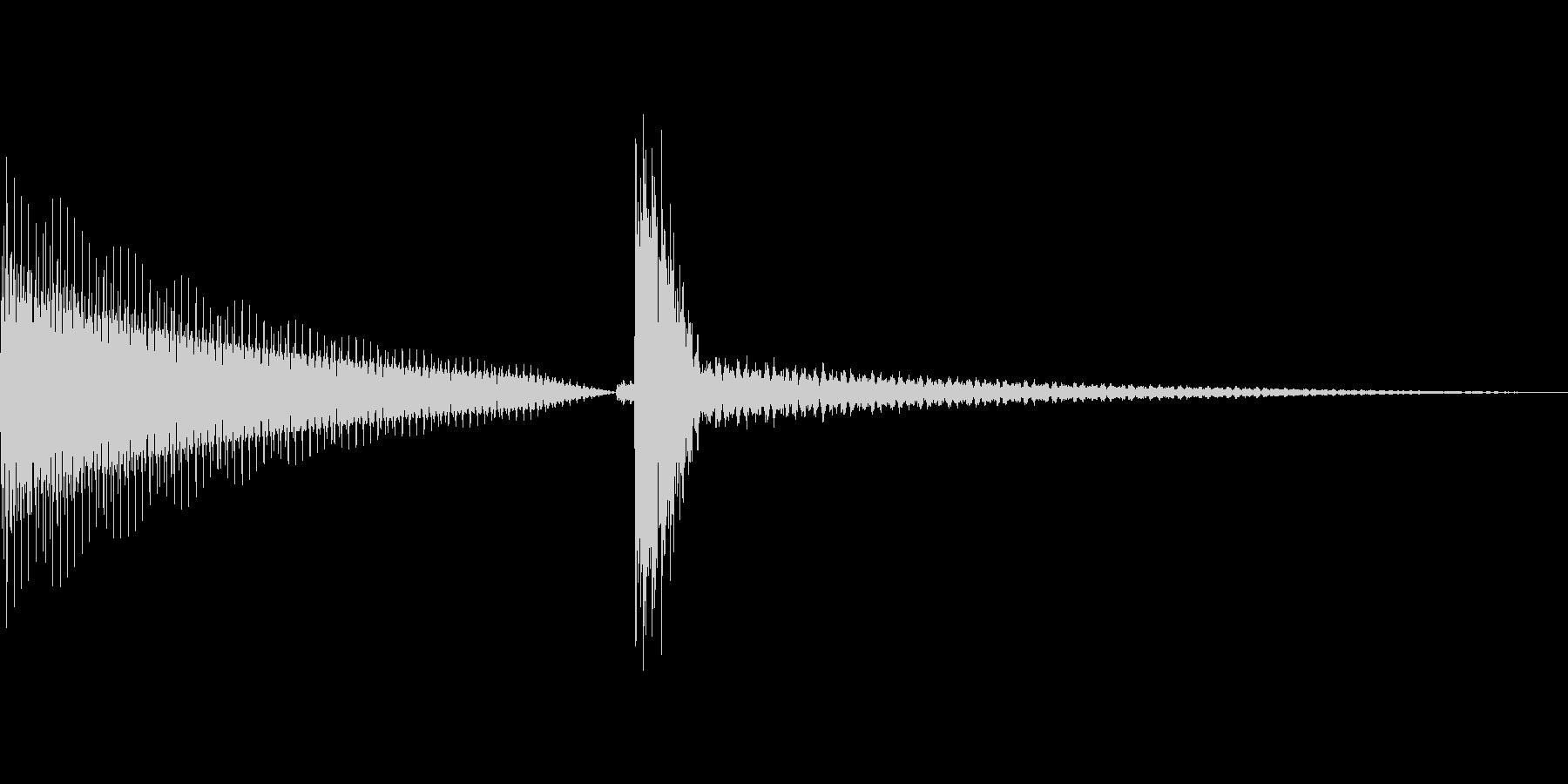 汎用的なシステム音(ピンポンの未再生の波形