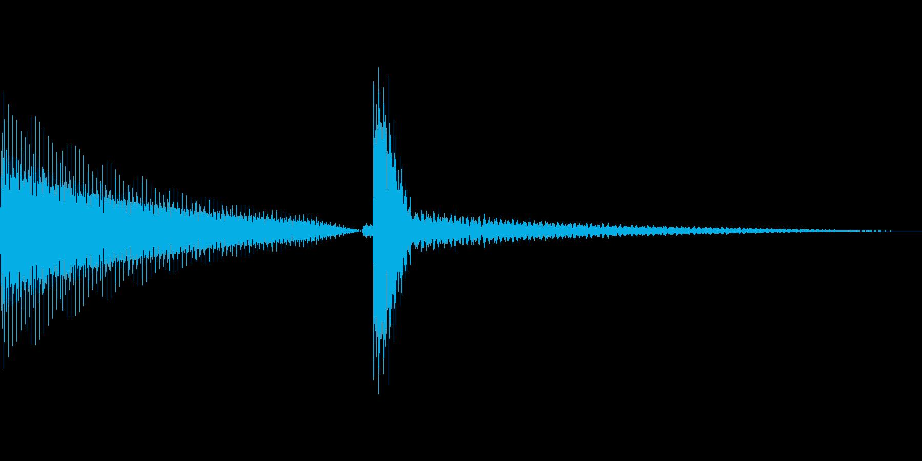 汎用的なシステム音(ピンポンの再生済みの波形