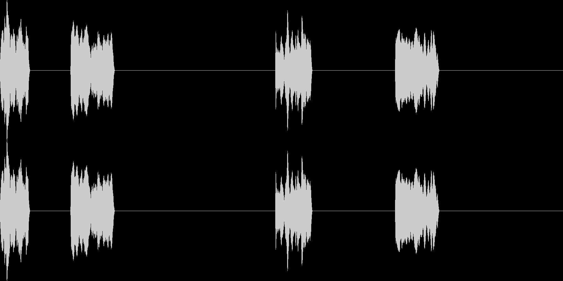 005_ボタン_選択の未再生の波形