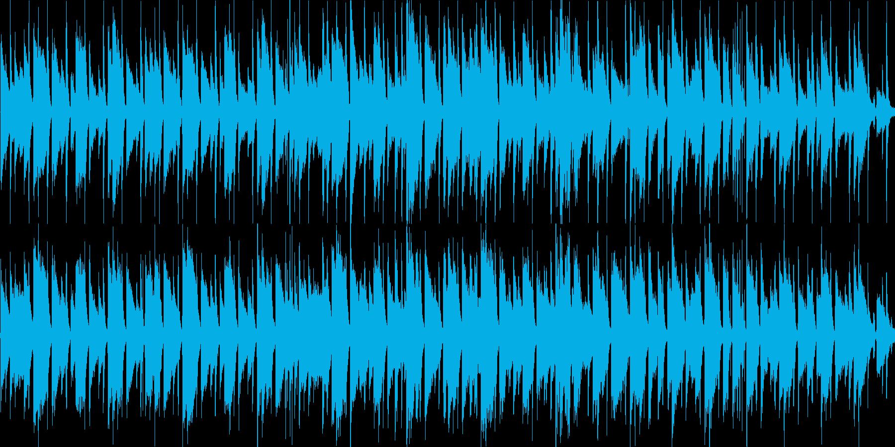 川辺で聴きたいほがらかなアコースティックの再生済みの波形
