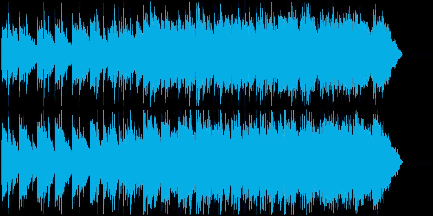 やさしいなつかしさ感じるあたたかいBGMの再生済みの波形