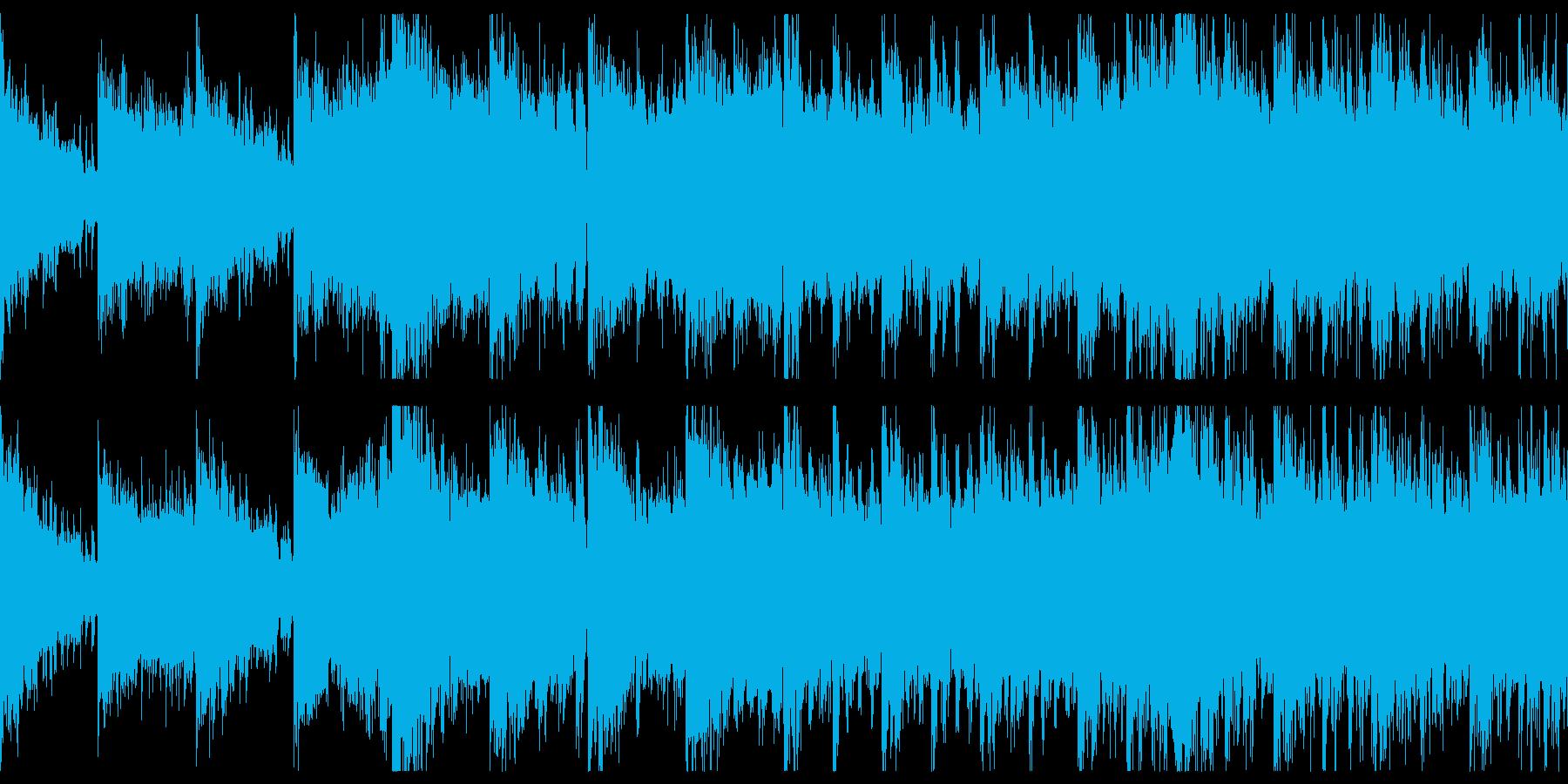 短めのダークでシネマティックなループの再生済みの波形