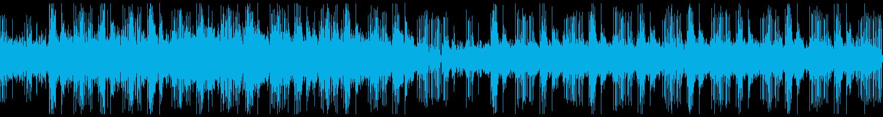 和風を意識したミステリーホラー向けの曲の再生済みの波形