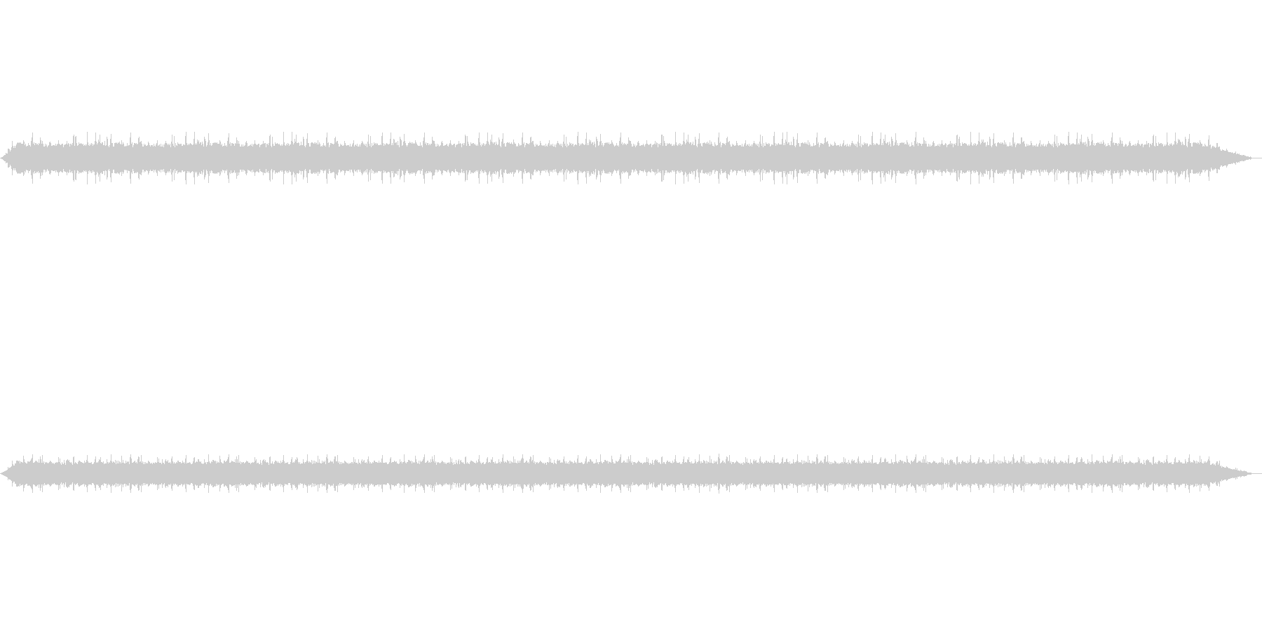 【雨 生録 環境03-1】の未再生の波形