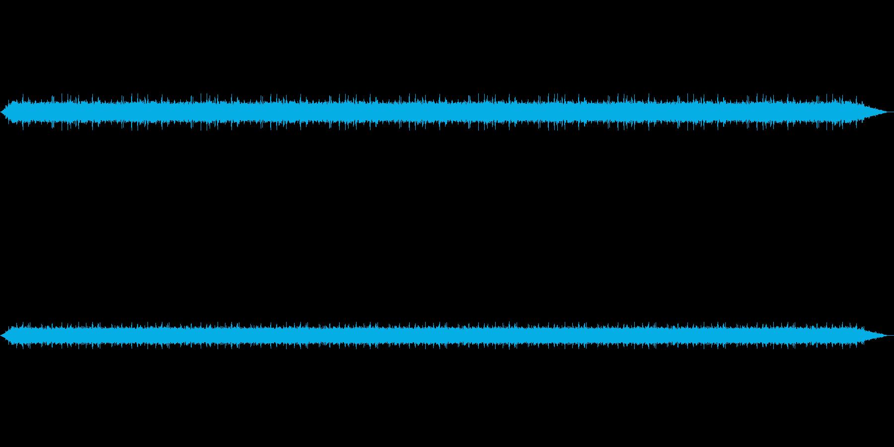 【雨 生録 環境03-1】の再生済みの波形
